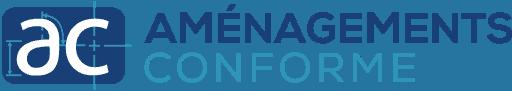 Logo de Aménagements conforme, client de 2c2b coworking.