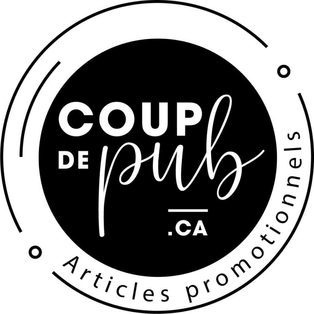 Logo Coup de Pub client de 2c2b coworking Mascouche et Boisbriand