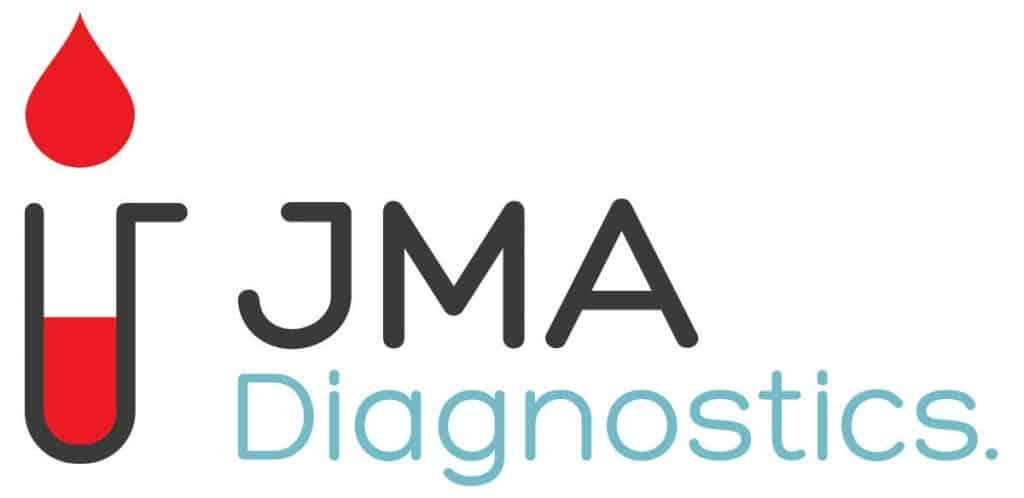 Logo de JMA Diagnostics, client de 2c2b coworking.