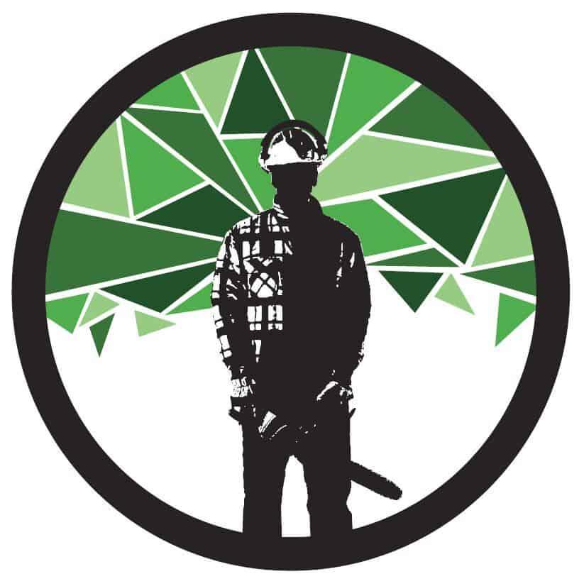 Logo L'émondeur urbain client de 2c2b coworking Mascouche et Boisbriand