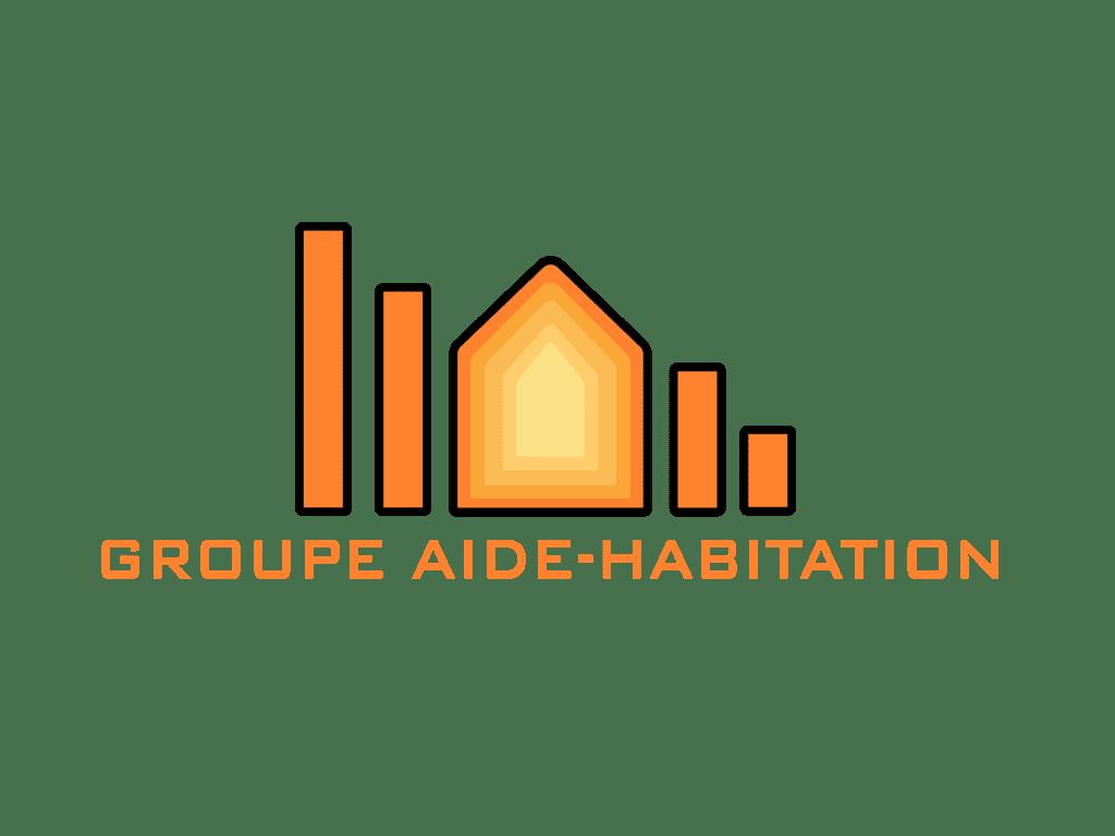 Logo Groupe Aide-Habitation client de 2c2b coworking Mascouche et Boisbriand