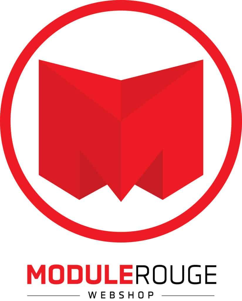 Logo Module Rouge client de 2c2b coworking Mascouche et Boisbriand