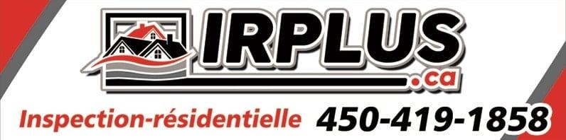 Logo de IRPlus, client de 2c2b coworking à Boisbriand, Rive-Nord.