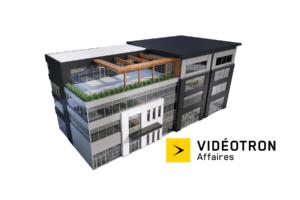2C2B Coworking Mascouche est partenaire de VIdéotron Affaires.